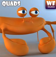 crab character 3d max