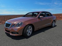 3ds mercedes benz e500 w212