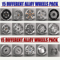 pack 15 car alloy max