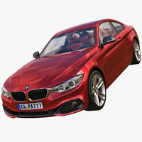 2014 bmw 435i coupe 3d c4d