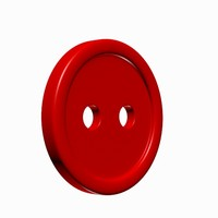 3d model sewing button