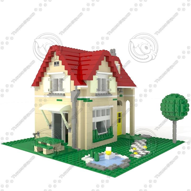 Max lego house for Lego house original