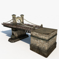 bridge nicholas chain 3d model