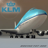 boeing 747-400 klm airlines max