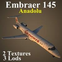 3d embraer skx