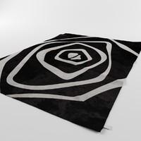 Arte Espina Optical Spiral Rug