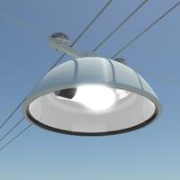 maya street lamp
