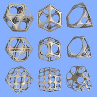 geometric shape mht-06 3d max