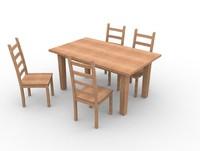 3d ikea kitchen furniture model