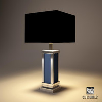 lamp table lundgren 3d 3ds