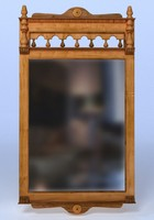 mirror wood wooden obj