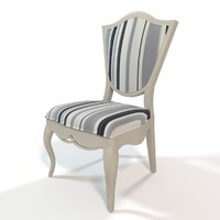 brevio saloti paola chair 3d model