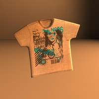 3ds max prop t-shirt