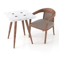 max modern table armchair