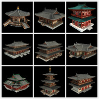 Asian temple Collection