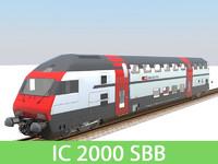 passenger train 3ds