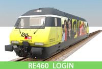 3d max passenger train