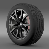 Nissan GTR wheel 2015