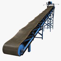 3d conveyor belt model