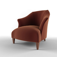 donghia shell chair item 3d 3ds