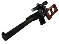 3dsmax vss vintorez sniper rifle