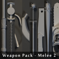 Weapons Pack - Melee 2