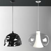 3d foscarini rock ceiling lamp