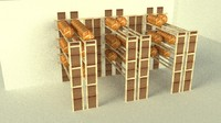 3d bakery display