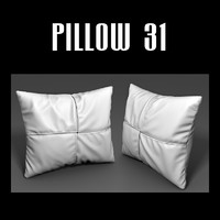 3ds max pillow interior
