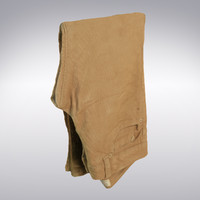 corduroy pants scanning 3d model