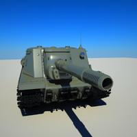 isu-152 152 isu 3d model