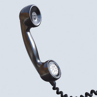 3d model phone cord
