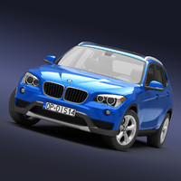 3ds max bmw x1