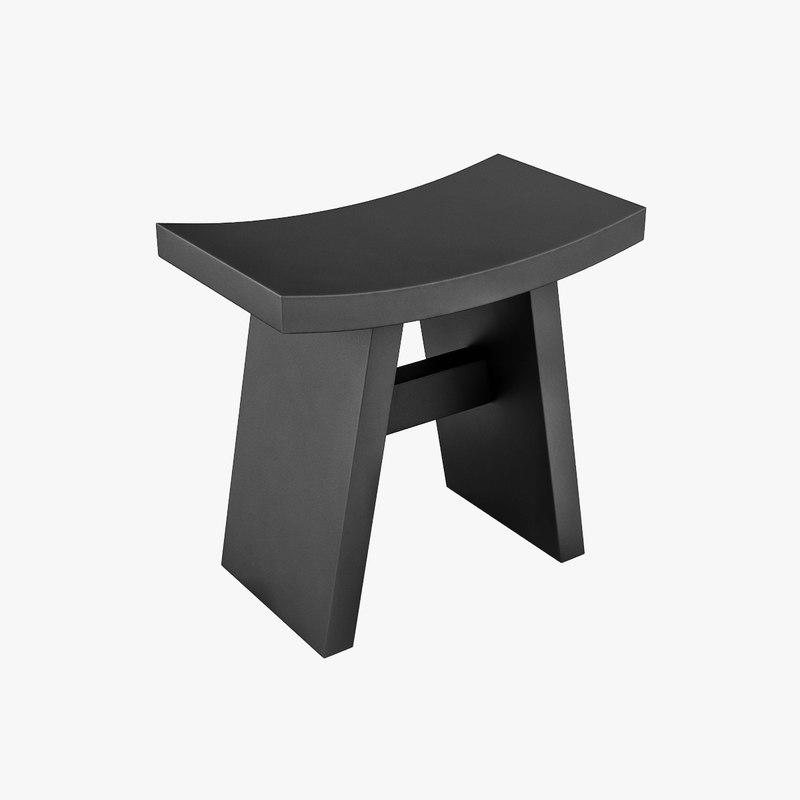 modeled architectural 3ds. Black Bedroom Furniture Sets. Home Design Ideas
