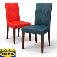 3d model henriksdal skiftebo dining chair