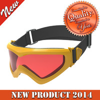 3d model skiing goggles