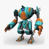 3ds max robo