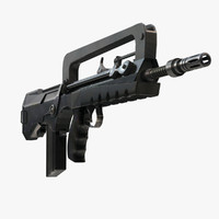 FAMAS Submachine Gun