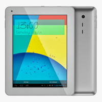 android silver pc tablet max