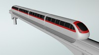 3ds train monorail