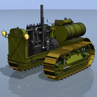 3ds max tractors s-60 stalinets