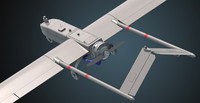 3d rq-7 shadow uav model
