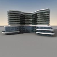 3d max modern building