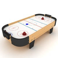 air hockey table 3d max