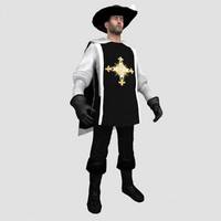 musketeer man hat max