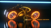 Tron Light Bike Exact Replica Model Clu Version