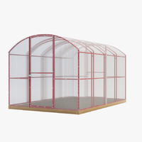 3d greenhouse model