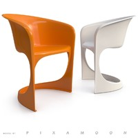 3d 291 cantilever chair model