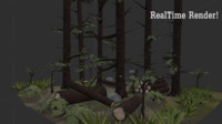 tall forest 3d 3ds