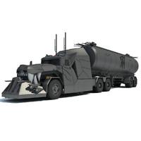 3d truck concept model